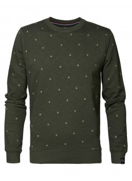Sweater r-neck van Petrol - SWR367