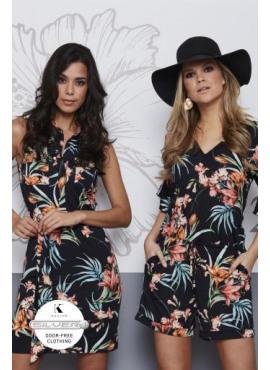 K-design kleed met riem N858 (links)