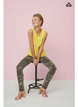 Tramontana HZ trouser camouflage print