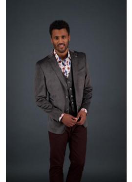 blazer brown velvet -92.01.107