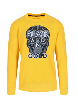 Black&Gold sweater CRANEO NERO ORO