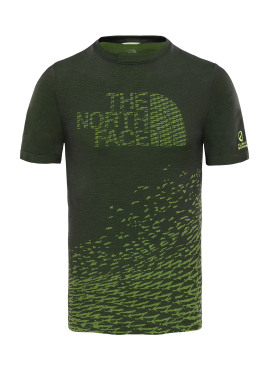 THE NORTH FACE Flight Logo Seamless SS M