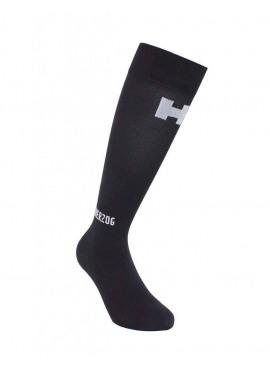 HERZOG Pro Compression Sock Short Black/Silver Unisex