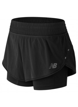 NEW BALANCE 4 Inch Impact 2 In 1 Short W