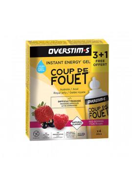 OVERSTIMS Coup De Fouet Liquide Gels 3 + 1