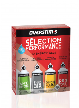 OVERSTIMS Selection Performance Liquide 10 gels