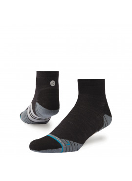 STANCE Run Uncommon Solids Wool QTR M