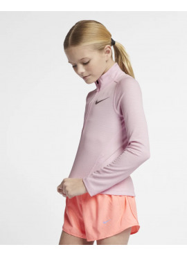 NIKE LS Top Run Half Zip Kids (Girls)