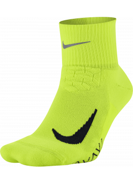 NIKE Elite Cushion Quarter Running Sock Unisex