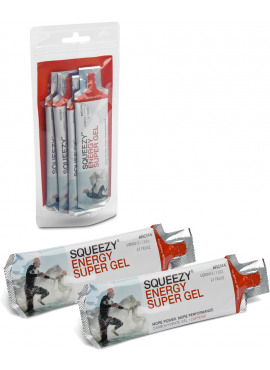 SQUEEZY Energy Super Gel Mini Pack 4x25gr