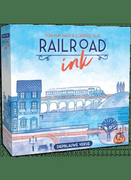 Railroad Ink: Blauwe Editie