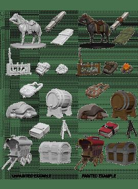 Nolzur's Miniatures: Adventurer's Campsite