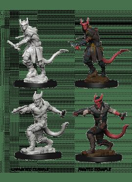 Nolzur's Miniatures: Tieflin Male Rogue