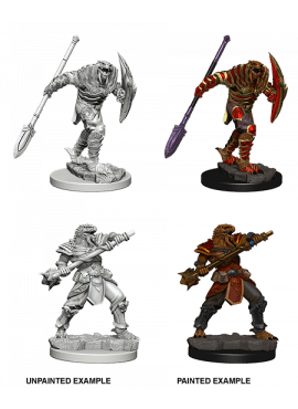 Nolzur's Miniatures: Dragonborn Male Fighter