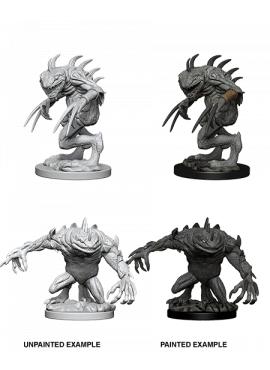Nolzur's Miniatures: Grey & Death Slaad