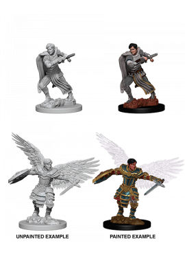 Nolzur's Miniatures: Aasimar Male Fighter