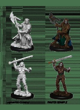 Nolzur's Miniatures: Female Half-Orc Fighter