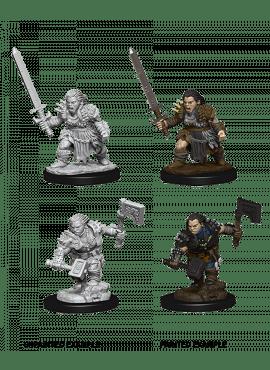 Deep Cuts: Female Dwarf Barbarian
