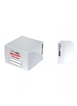Pro Dual Deckbox: White