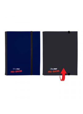 Pro Binder Small: Blue & Black