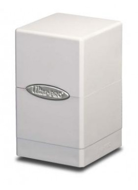 Satin Deckbox: White