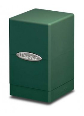 Satin Deckbox: Green