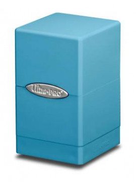 Satin Deckbox: Light Blue