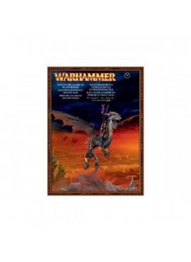 Dark Elf Dreadlord on Black Dragon