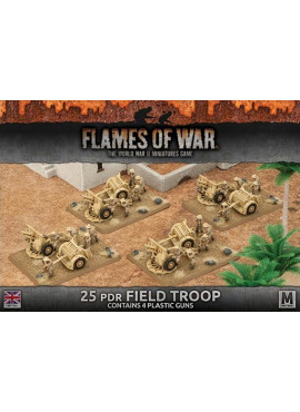 Desert Rats: 25 pdr Field Troop