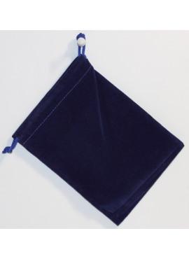 Suede Dice Bag: Royal Blue