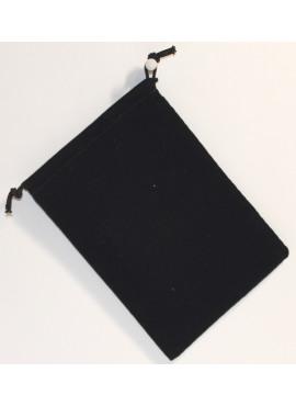 Suede Dice Bag: Black
