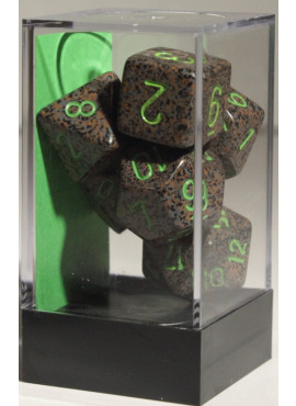 Speckled Poly Dice: Earth