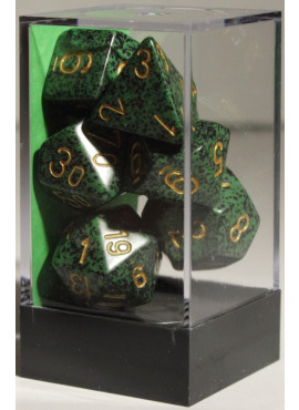 Speckled Poly Dice: Golden Recon