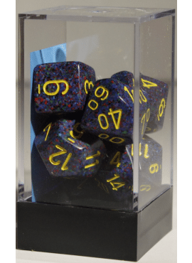 Speckled Poly Dice: Twilight