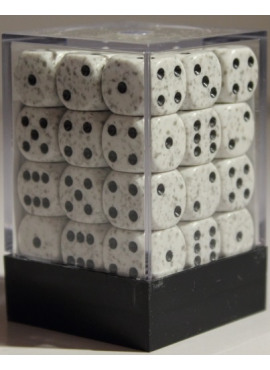 Speckled D6 Dice Block: Artic Camo