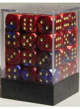 Gemini D6 Brick: Blue & Red