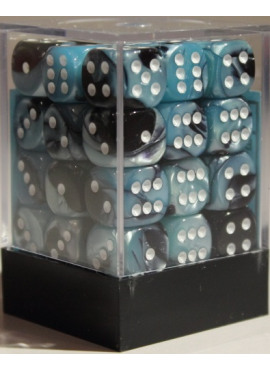 Gemini D6 Dice Block: Black - Shell