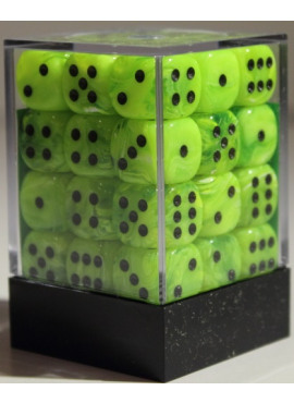 Vortex D6 Dice Block: Bright Green