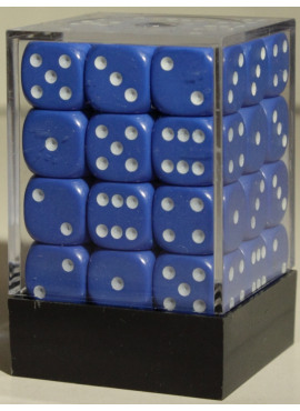 Opaque D6 Brick: Blue