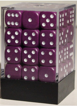 Opaque D6 Brick: Purple
