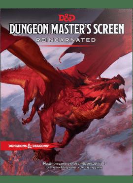 D&D 5: Dungeon Master's Screen Reincarnated
