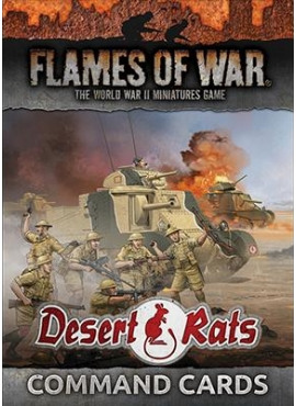Desert Rats Command Cards