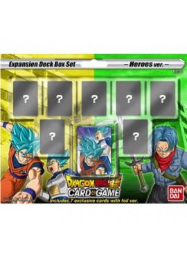 Dragon Ball: Deck Box Mighty Heroes