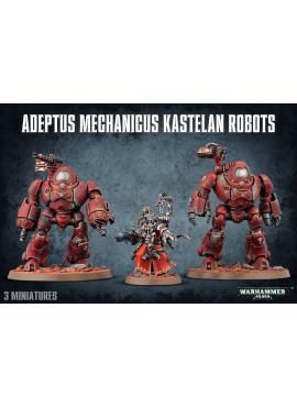 Adeptus Mechanicus Kastelan Robots