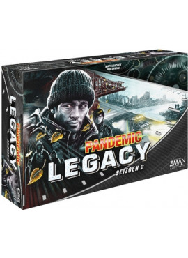 Pandemic Legacy Seizoen 2: Zwart