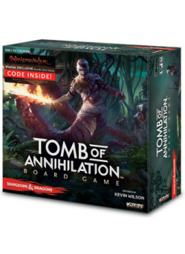 D&D: Tomb of Annihilation Boardgame