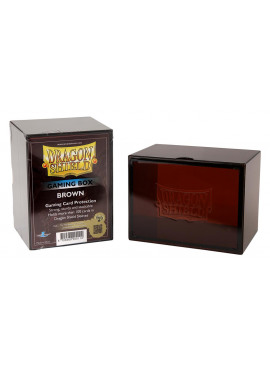 Dragon Shield Deckbox: Brown