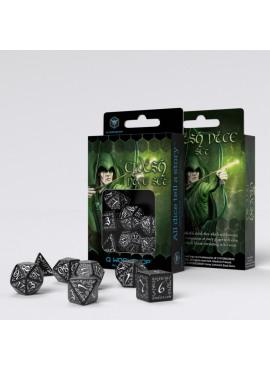Elvish Dice: Black / White