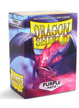 Dragon Shields: Matte Purple
