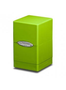 Satin Deckbox: Lime Green